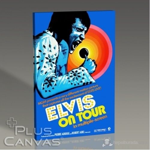 Pluscanvas - Elvis - On Tour Tablo