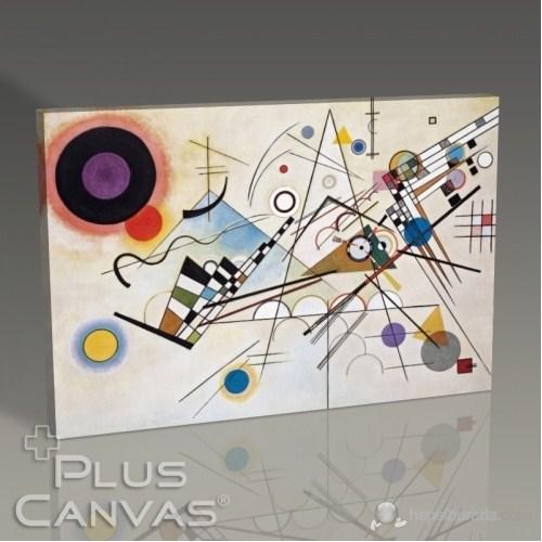 Pluscanvas - Wassily Kandinsky - Kompozisyon Vııı Tablo