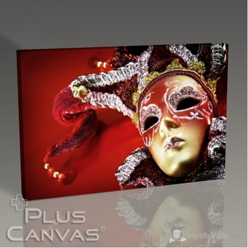 Pluscanvas - Carnival Mask Tablo