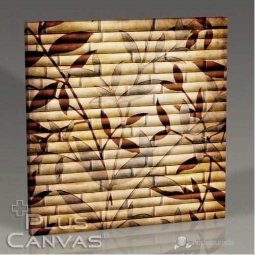 Pluscanvas - Bamboo Wallpaper Tablo