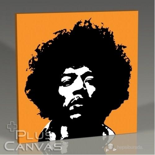 Pluscanvas - Jimi Hendrix - Orange Tablo