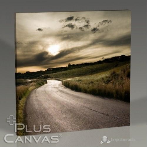 Pluscanvas - Empty Road Tablo