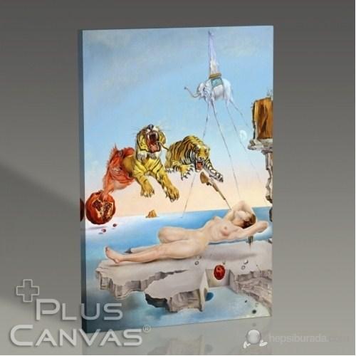 Pluscanvas - Salvador Dali - Gala And The Tigers Tablo