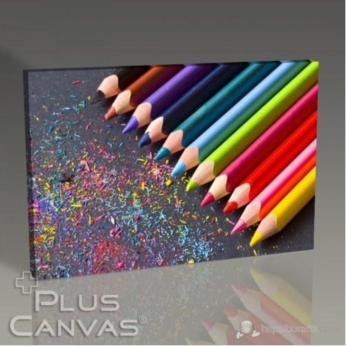 Pluscanvas - Coloured Pencils I Tablo