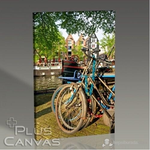 Pluscanvas - Amsterdam - Bikes Tablo