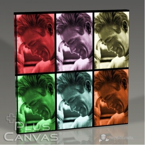 Pluscanvas - James Dean - Pop Art Tablo