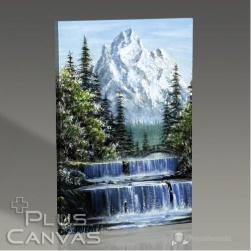 Pluscanvas - Snowy Mountain Tablo