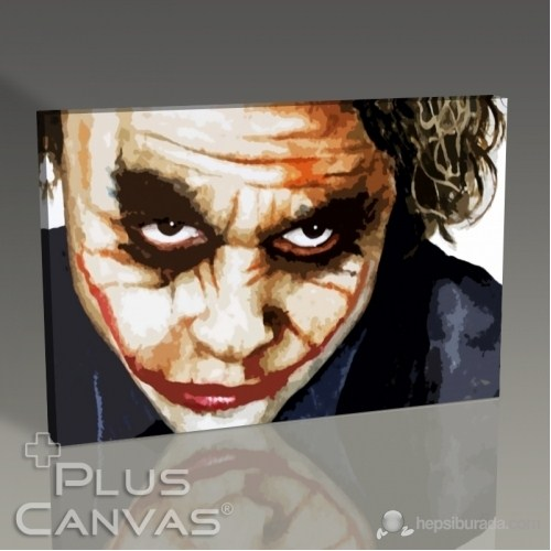 Pluscanvas - Batman - The Joker - Heath Ledger Tablo