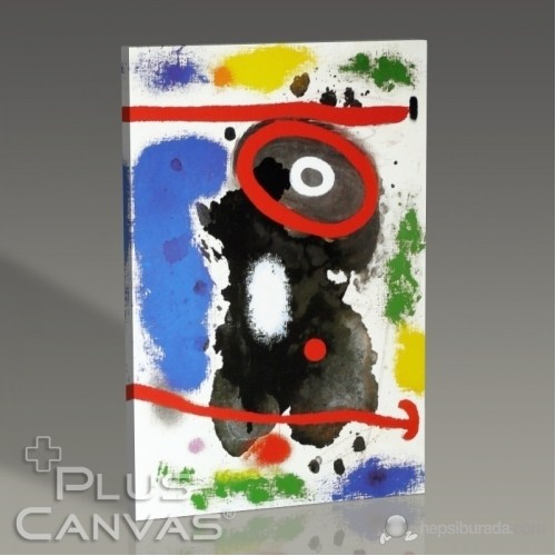 Pluscanvas - Joan Miro - Head Tablo