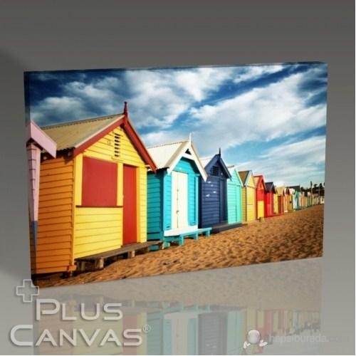 Pluscanvas - Melbourne - Brighton Beach Tablo