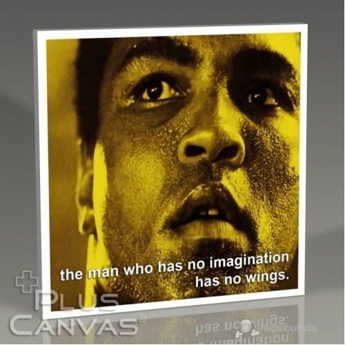 Pluscanvas - Muhammad Ali - Imagination Tablo