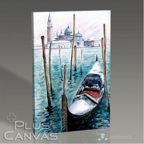 Pluscanvas - Venezia - Watercolor Series Iı Tablo