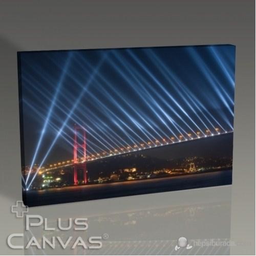 Pluscanvas - İstanbul - Boğaziçi Köprüsü Cumhuriyet Bayramı Kutlamaları Tablo