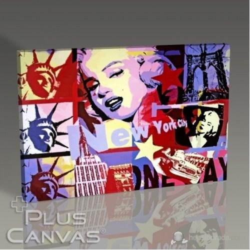 Pluscanvas - Marilyn Monroe - One Way Tablo