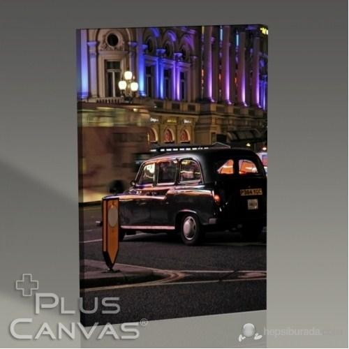 Pluscanvas - Kerem Soyoz - London - Black Cab Tablo
