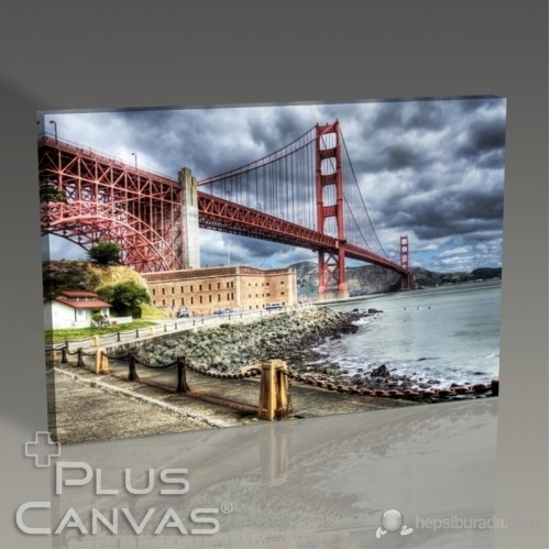 Pluscanvas - San Francisco - Golden Gate Tablo