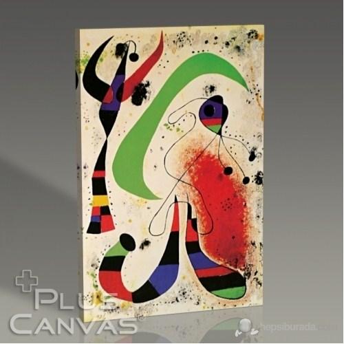 Pluscanvas - Joan Miro - Night Tablo