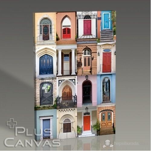 Pluscanvas - Many Doors Tablo
