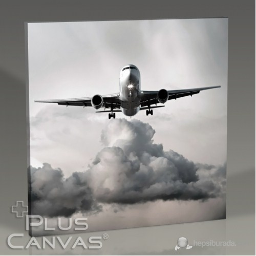 Pluscanvas - Airplane Series Iıı Tablo