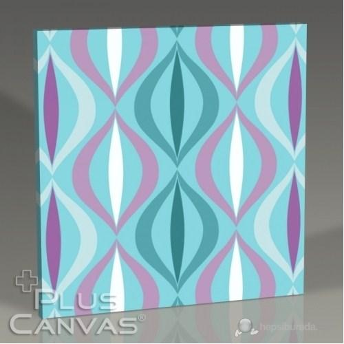 Pluscanvas - Fisheye - Blue Tablo