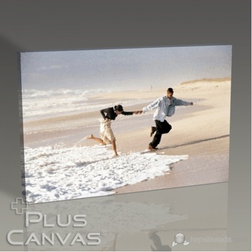 Pluscanvas - Beach Waves Tablo