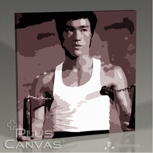 Pluscanvas - Bruce Lee - Nunchaku Tablo