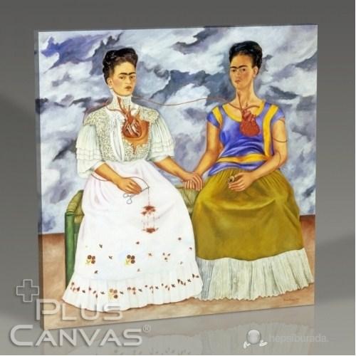 Pluscanvas - Frida Kahlo - Two Fridas 1939 Tablo