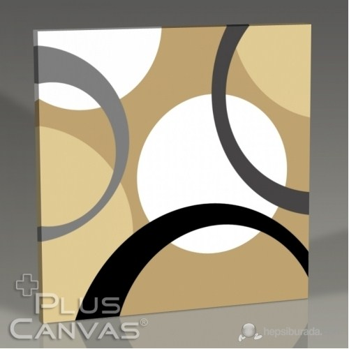 Pluscanvas - Circles Iı Tablo
