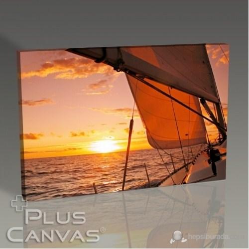 Pluscanvas - Sailing To Sunset Tablo