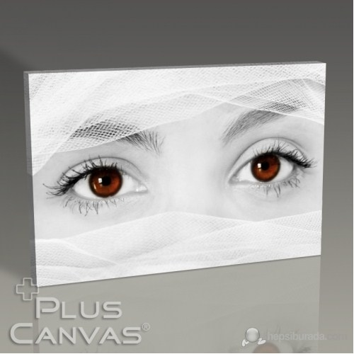 Pluscanvas - Red Eyes Tablo