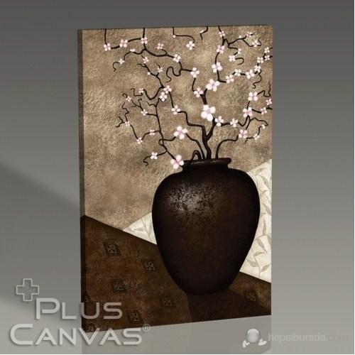 Pluscanvas - Cherry Blossom İn Vase Tablo