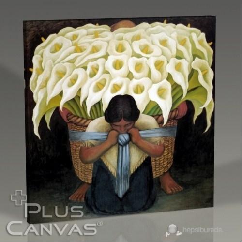 Pluscanvas - Diego Rivera - Vendedora De Flores Tablo