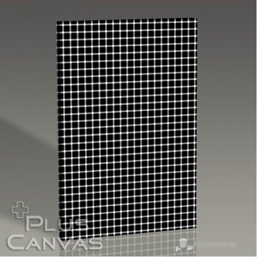 Pluscanvas - White Or Black Dots Tablo