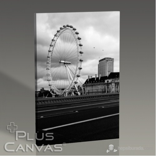 Pluscanvas - Kerem Soyoz - London Eye Tablo