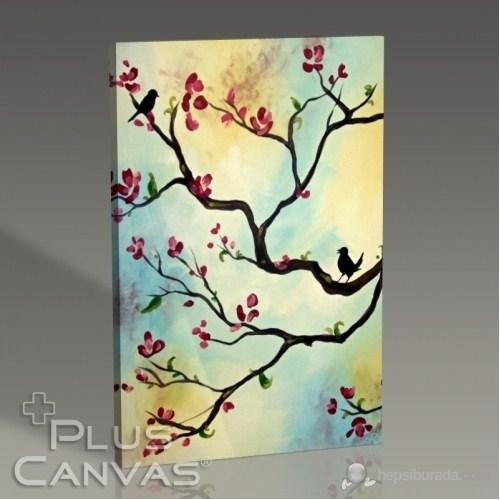 Pluscanvas - Fantasy Tree Iı Tablo