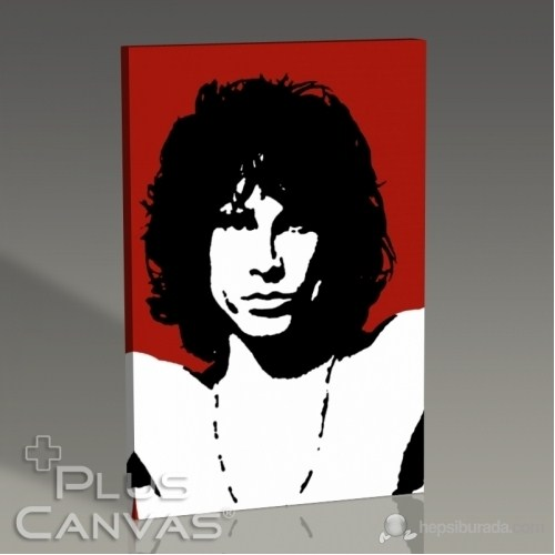 Pluscanvas - Jim Morrison - Red Tablo