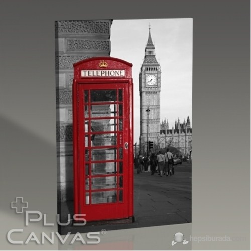 Pluscanvas - London - Phone Booth Tablo