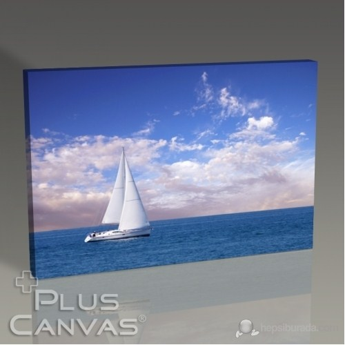 Pluscanvas - Sail Boat Tablo