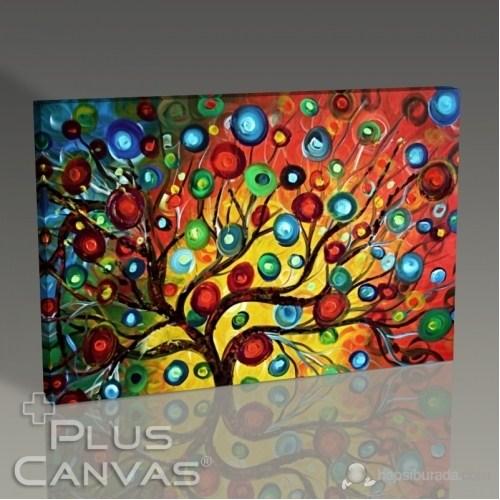 Pluscanvas - Abstract Tree I Tablo