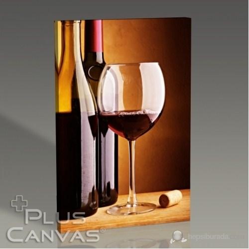 Pluscanvas - Red Wine Tablo