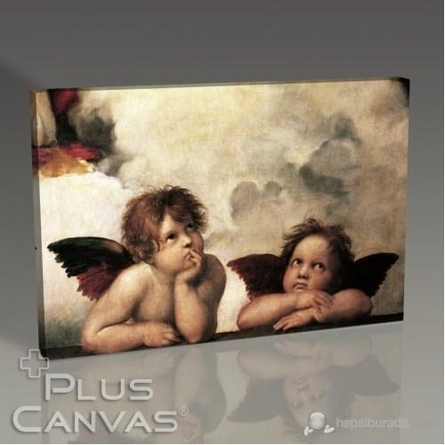 Pluscanvas - Raffaello Santi - Little Angels Tablo