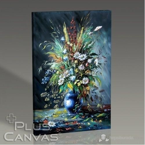 Pluscanvas - Beautiful Flowers İn A Vase Tablo