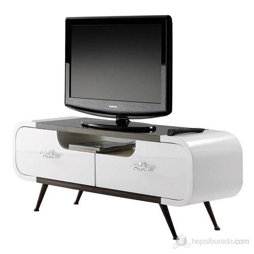 Bari Tv Sehpası ( Ceviz - Beyaz )