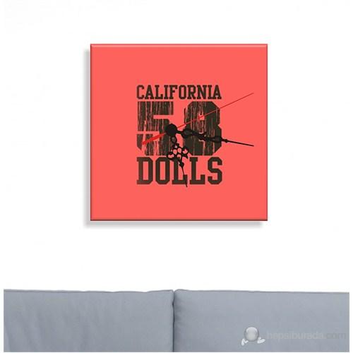 Kanvas Saat California Dolls