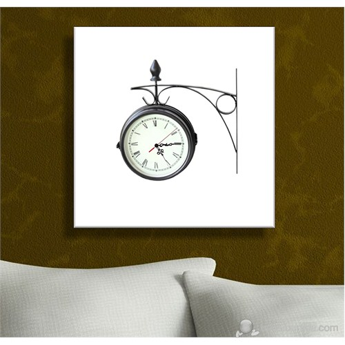 İşlemeli Tablo Saat