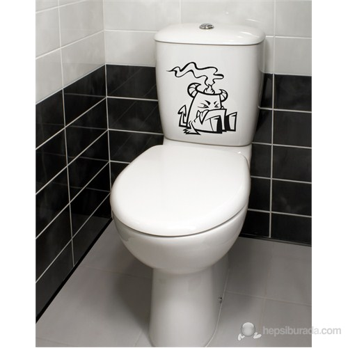 Dekorjinal Banyo Sticker Ban23