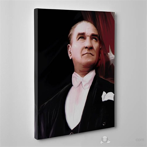 Tabloshop - Atatürk Canvas Tablo - 75X50cm