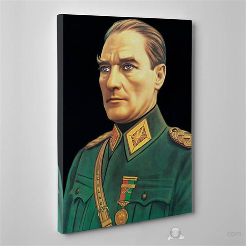 Tabloshop - Mustafa Kemal Atatürk Canvas Tablo - 75X50cm