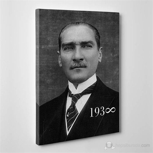 Tabloshop - Mustafa Kemal Atatürk 1938 Canvas Tablo - 75X50cm