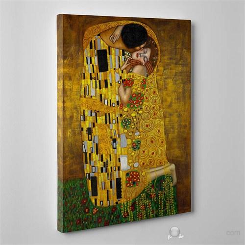 Tabloshop - Gustav Klimt - The Kiss Canvas Tablo - 75X50cm